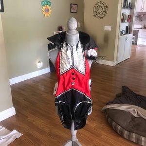 Vampire style dance costume